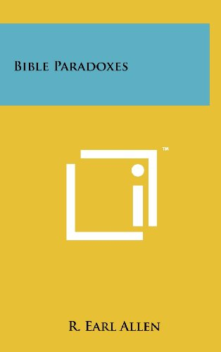 9781258220341: Bible Paradoxes