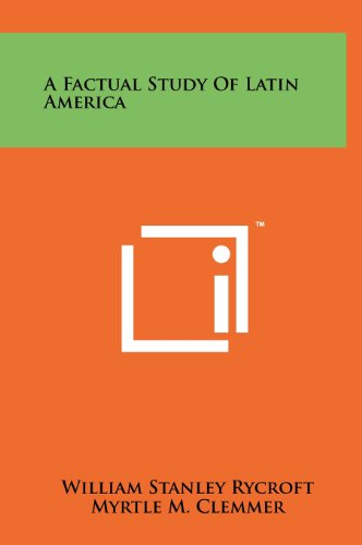 9781258222673: A Factual Study of Latin America
