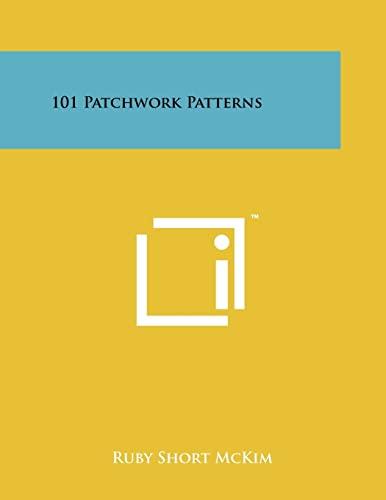 9781258225971: 101 Patchwork Patterns