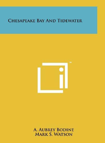 9781258228125: Chesapeake Bay and Tidewater