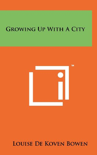 9781258229641: Growing Up with a City