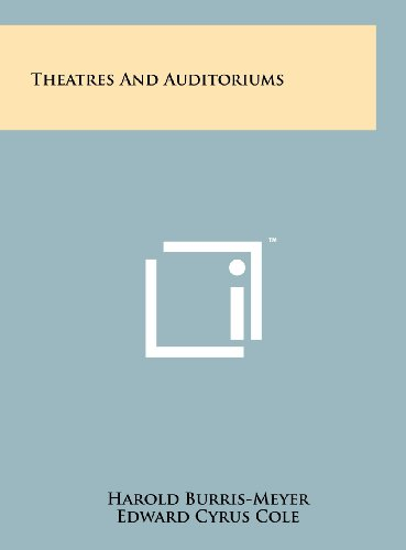 9781258232047: Theatres And Auditoriums
