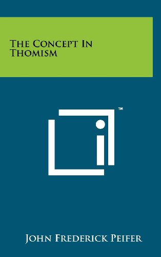 9781258233129: The Concept In Thomism