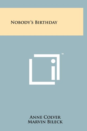9781258233471: Nobody's Birthday