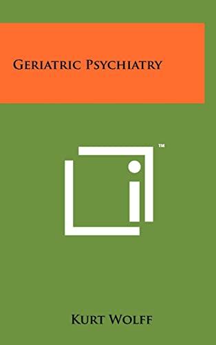9781258236892: Geriatric Psychiatry