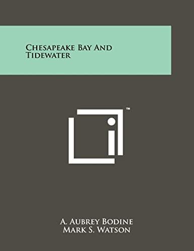 9781258241315: Chesapeake Bay and Tidewater