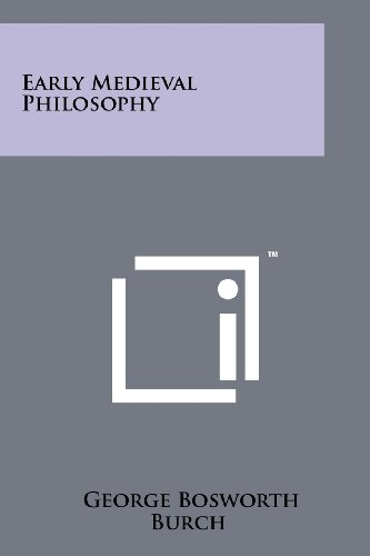 9781258242565: Early Medieval Philosophy