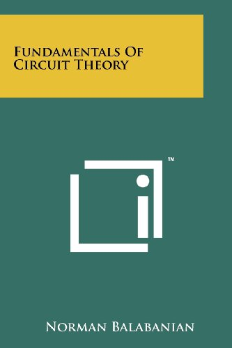 9781258244286: Fundamentals of Circuit Theory