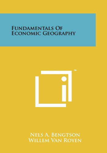 9781258244293: Fundamentals of Economic Geography