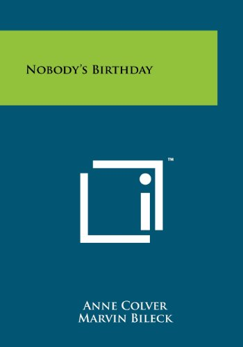 9781258247188: Nobody's Birthday