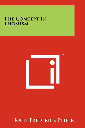 9781258248840: The Concept In Thomism