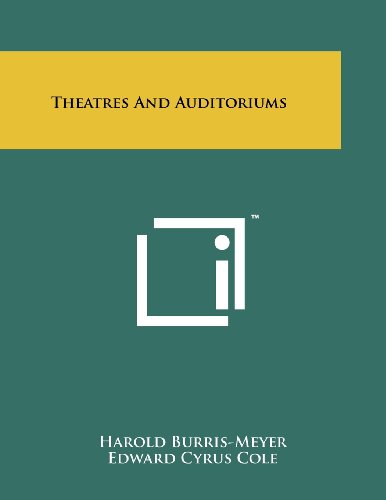 9781258249632: Theatres And Auditoriums