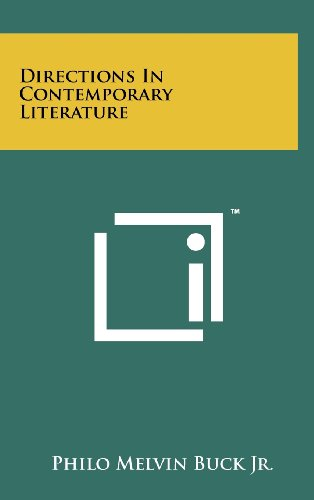 9781258250287: Directions In Contemporary Literature