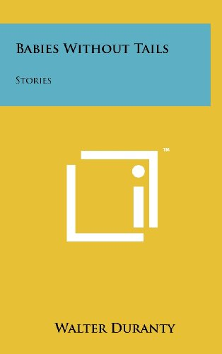 9781258250775: Babies Without Tails: Stories