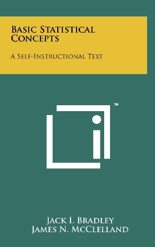 9781258253530: Basic Statistical Concepts: A Self-Instructional Text