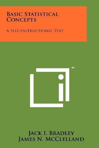 9781258254919: Basic Statistical Concepts: A Self-Instructional Text