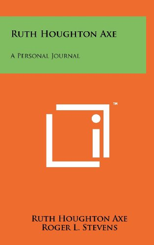 9781258261085: Ruth Houghton Axe: A Personal Journal