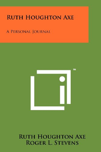 9781258263348: Ruth Houghton Axe: A Personal Journal