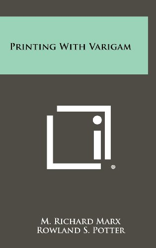9781258270148: Printing with Varigam
