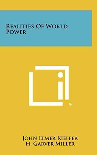 9781258282400: Realities Of World Power