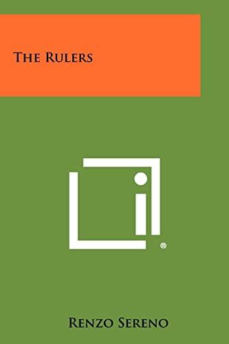 The Rulers: Renzo Sereno