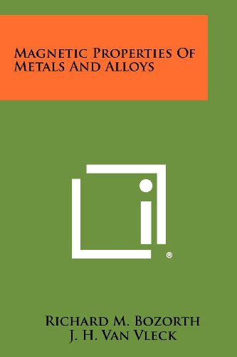 9781258291051: Magnetic Properties Of Metals And Alloys