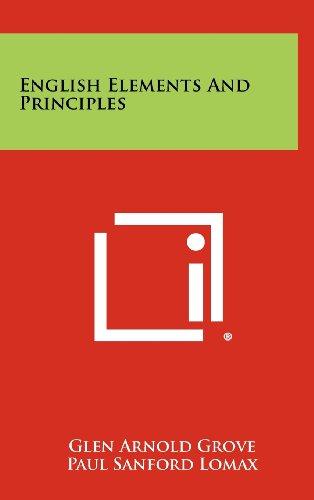 9781258297145: English Elements and Principles