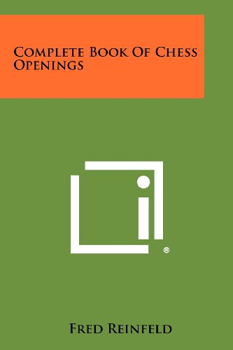 9781258300616: Complete Book Of Chess Openings