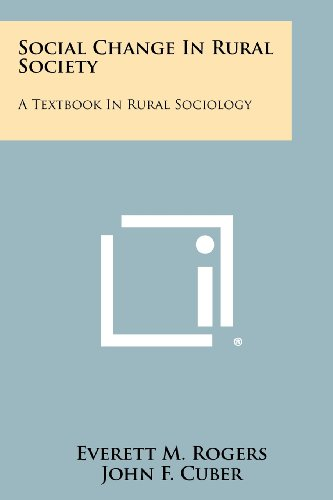 9781258303631: Social Change in Rural Society: A Textbook in Rural Sociology