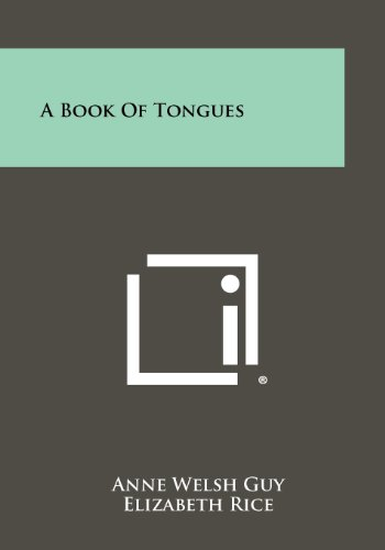 9781258304157: A Book Of Tongues