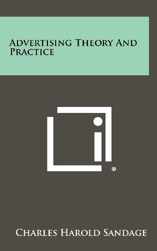 9781258305277: Advertising Theory And Practice