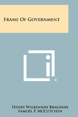 9781258314477: Frame Of Government