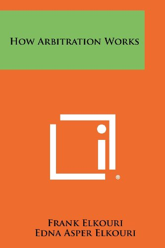 9781258315832: How Arbitration Works
