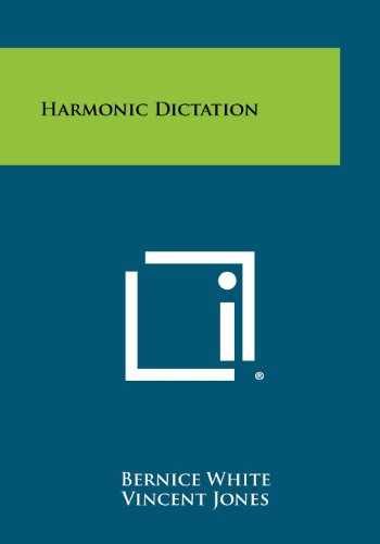 9781258316365: Harmonic Dictation