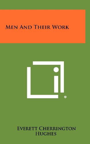 9781258318567: Men and Their Work