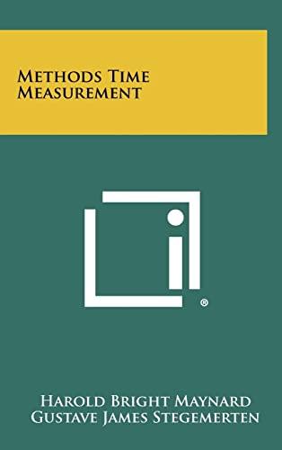 9781258342944: Methods Time Measurement