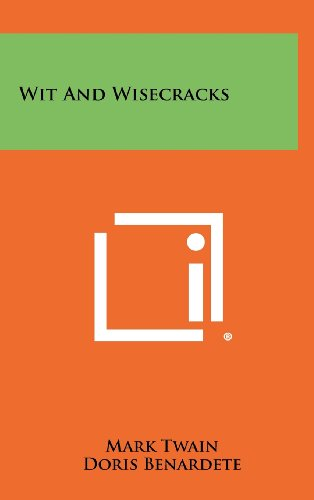9781258343682: Wit and Wisecracks