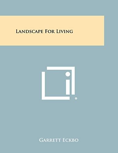 9781258353223: Landscape For Living