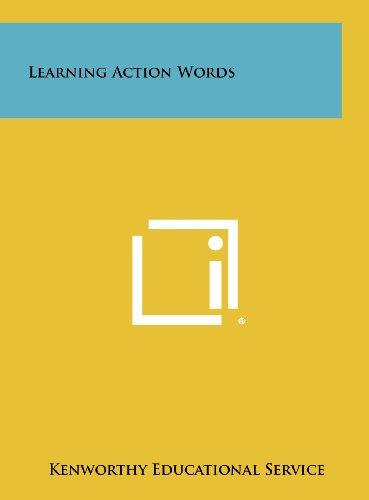 Learning Action Words (Hardback): Kenworthy Educational Service