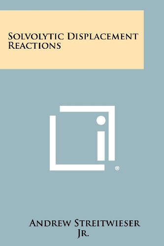 9781258362300: Solvolytic Displacement Reactions
