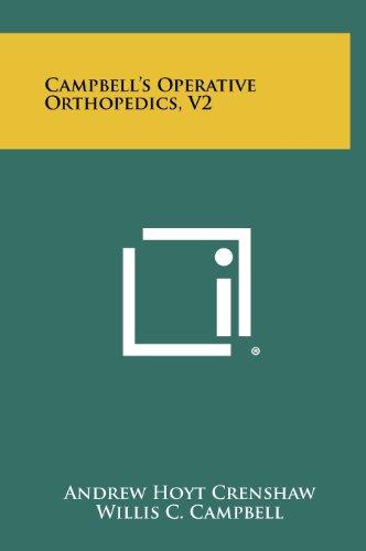 9781258367909: Campbell's Operative Orthopedics, V2