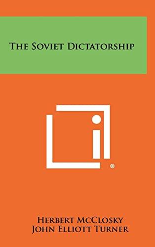 9781258372545: The Soviet Dictatorship