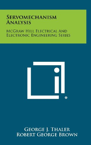 9781258373245: Servomechanism Analysis: McGraw Hill Electrical and Electronic Engineering Series