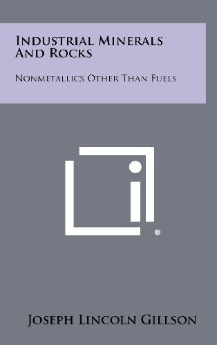 9781258401207: Industrial Minerals and Rocks: Nonmetallics Other Than Fuels