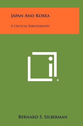 9781258401221: Japan and Korea: A Critical Bibliography
