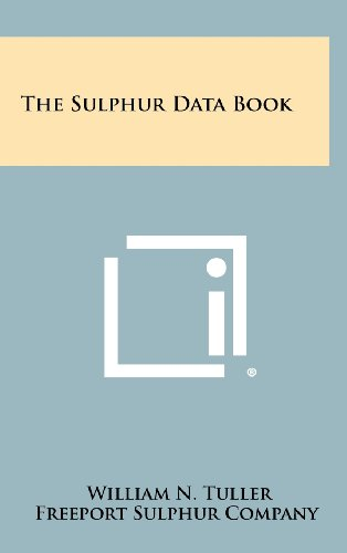 9781258402624: The Sulphur Data Book