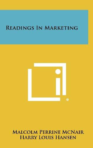 9781258403867: Readings in Marketing