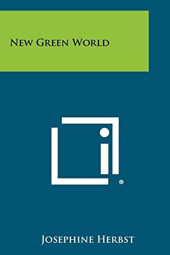 9781258421182: New Green World