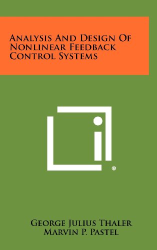 9781258427443: Analysis And Design Of Nonlinear Feedback Control Systems