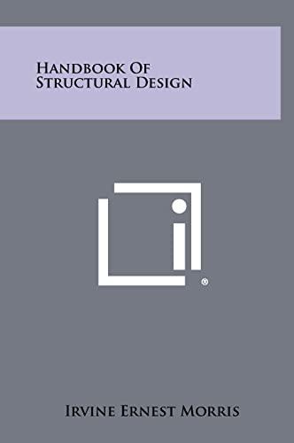 9781258435189: Handbook of Structural Design